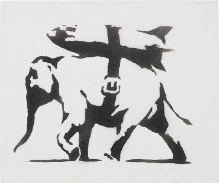 Banksy-Heavy Weaponry-2003