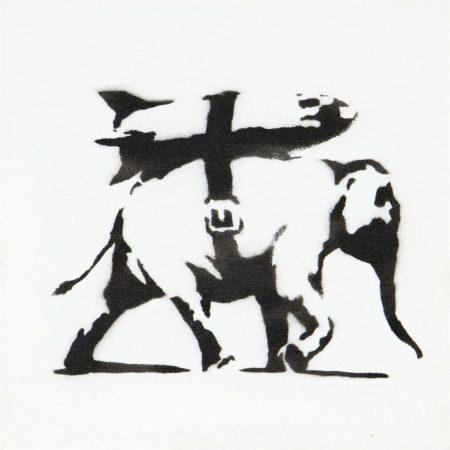 Banksy-Heavy Weaponry-2004