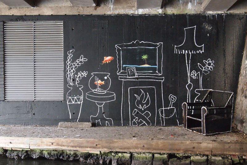 Banksy - January 2011, Camden, London