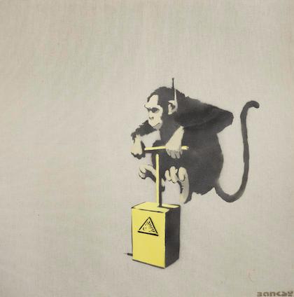 Banksy-Monkey Detonator-2000