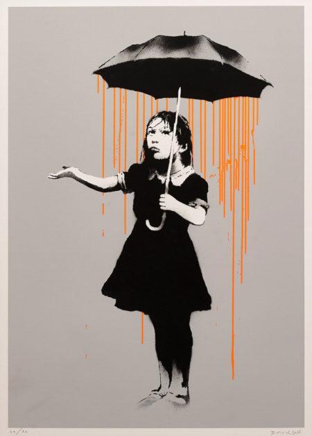 Banksy-Nola (Orange)-2008