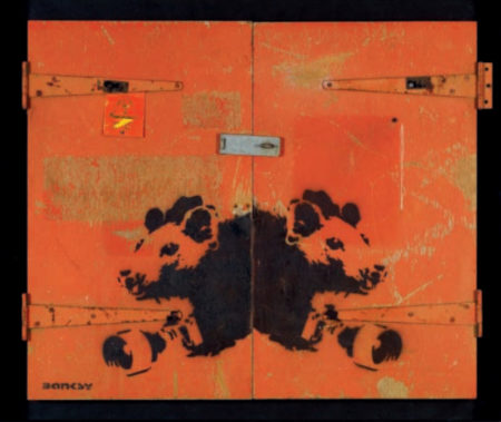 Banksy-Paparazzi Rats-2004