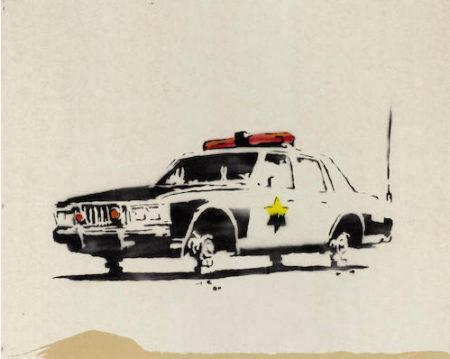 Banksy-Police Car-2003