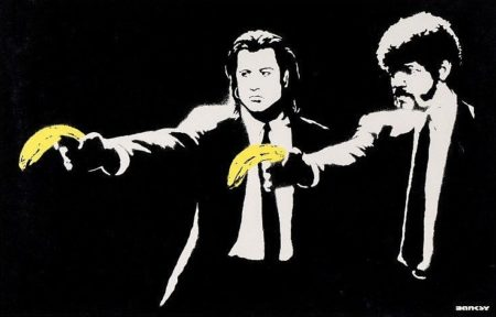 Banksy-Pulp Fiction-2004