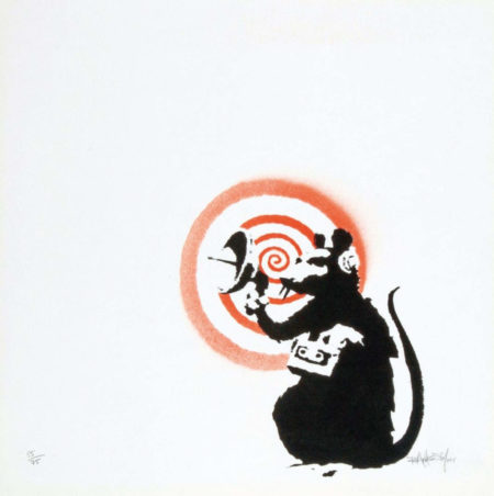 Banksy-Radar Rat-2004