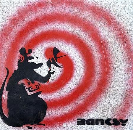 Banksy-Radar Rat-