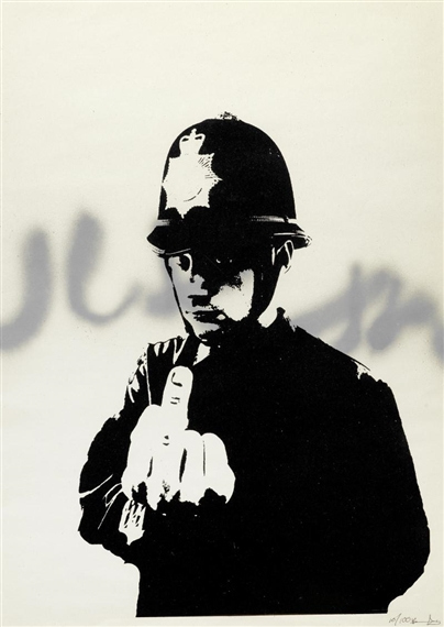 Banksy-Rude Copper-2002
