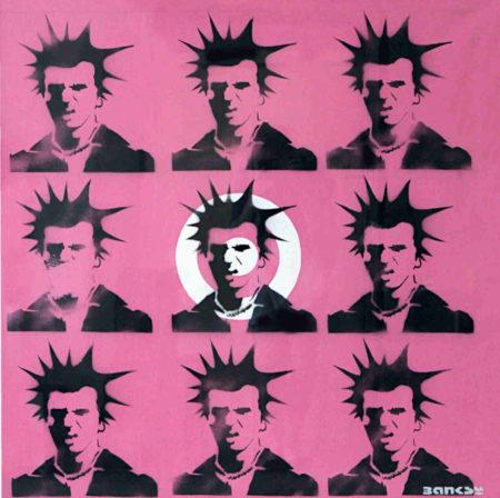 Banksy-Sid Vicious-2000