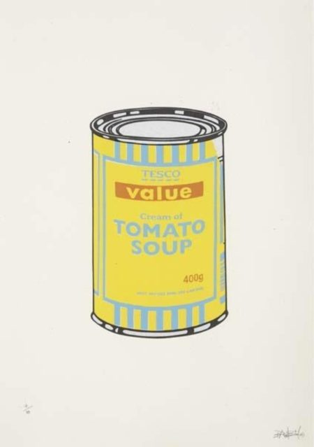 Banksy-Soup Can-2005