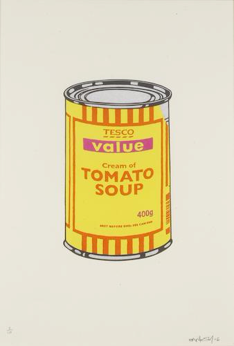 Banksy-Soup Can-2006