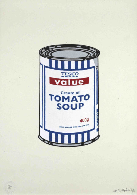 Banksy-Soup Can Original-2005