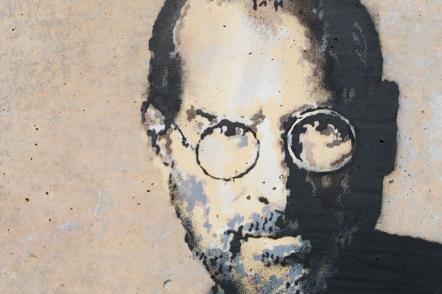 Banksy - Steve Jobs in Calais