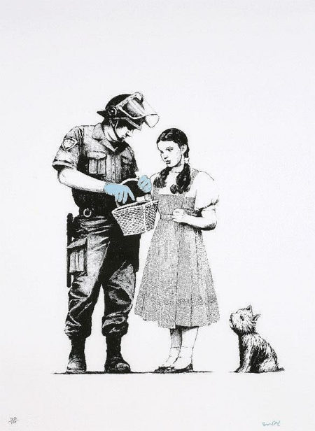 Banksy-Stop and Search-2007