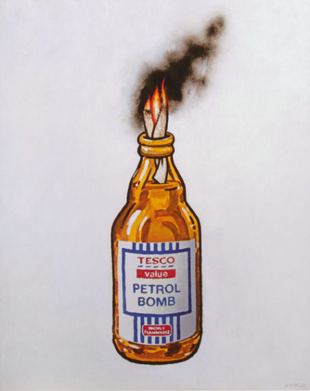 Tesco Petrol Bomb-2011