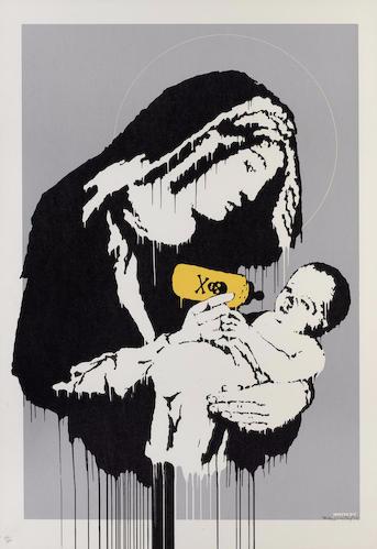 Banksy-Toxic Mary-2004