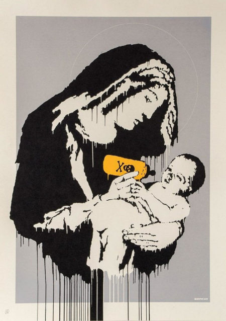 Banksy-Toxic Mary-2004
