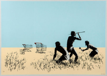 Banksy-Trolleys (Bethlehem Edition)-2007