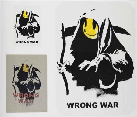 Banksy-Wrong War (from Pax Britannica, a Hellish Place)-2004