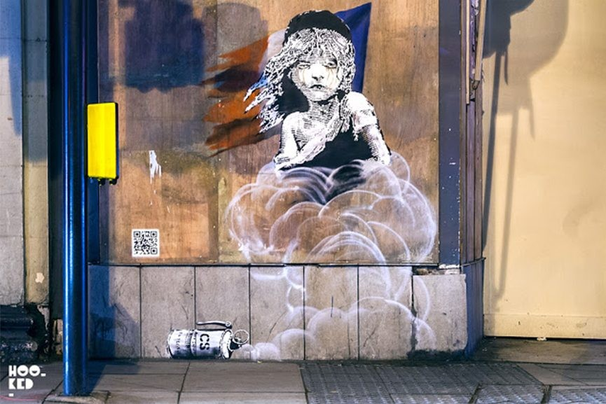 tour gas shoreditch street graffiti home new news french 2016 use refugees gas girl embassy january syrian