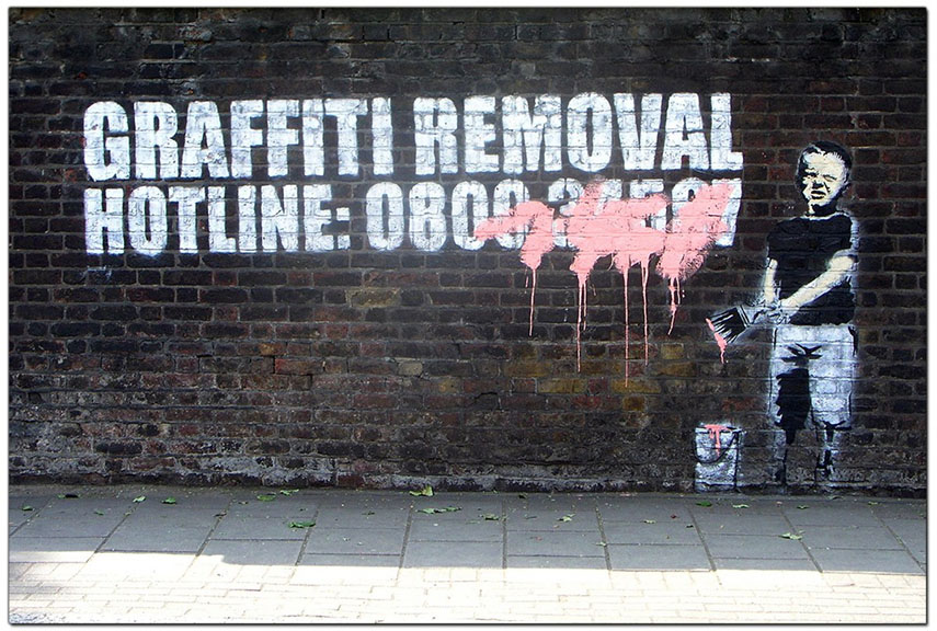 Is Graffiti Art or Vandalism ? Questions of Art, Advertising and ...
