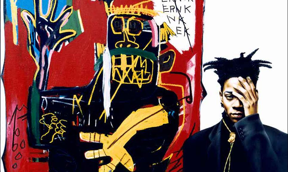 Basquiat paintings crown