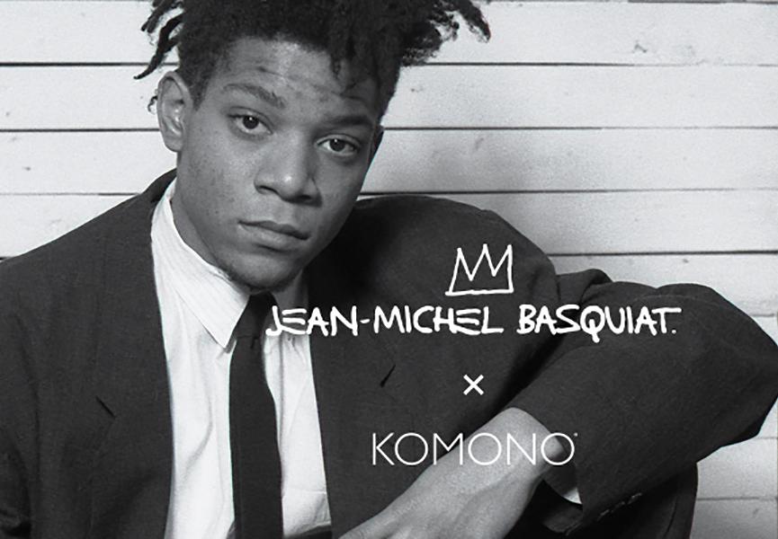 Basquiat x Komono watch collection