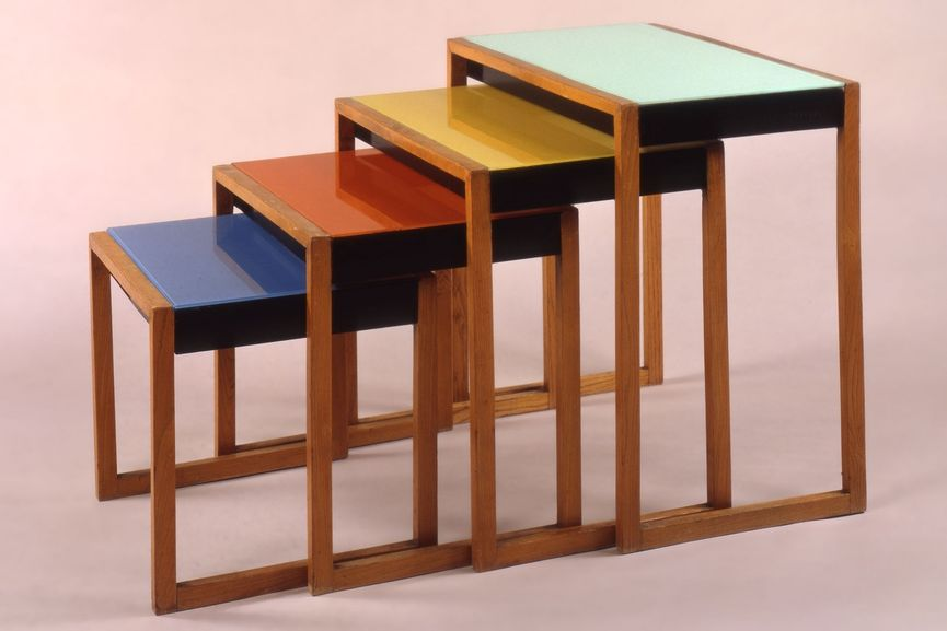 Josef Albers Nesting Tables WideWalls