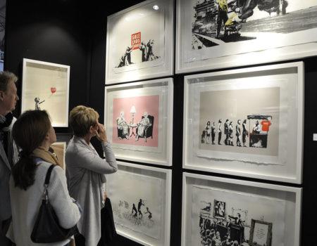 What Sold at Urban Art Fair in Paris 2017?