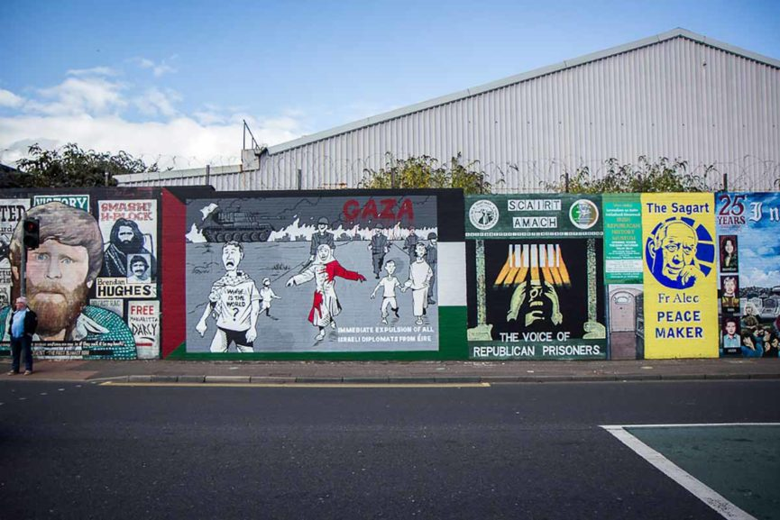 Danny devenny the in famous irish artist widewalls for Easter rising mural