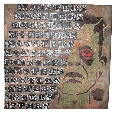 Ben Eine-Monsters-