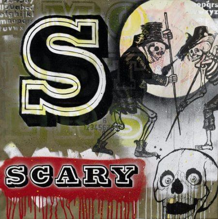 Ben Eine-S Iz for Scary-2007