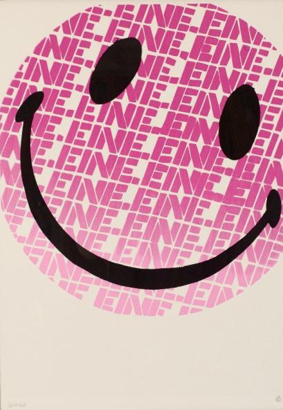 Ben Eine-Smiley-2004