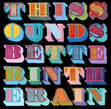 Ben Eine-This Sounds Better In The Rain-