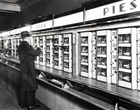 Berenice Abbott-Automat, 977 Eighth Avenue, Manhattan, New York-1936