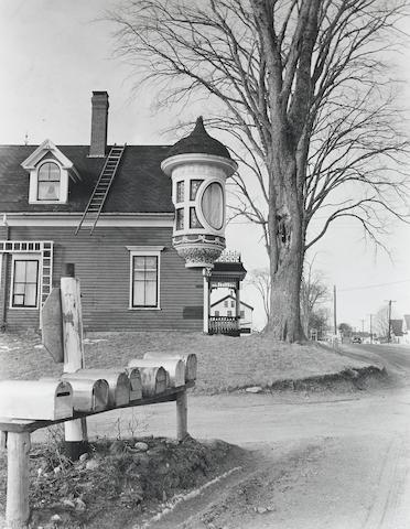 Berenice Abbott-House, Belfast, Maine-1954