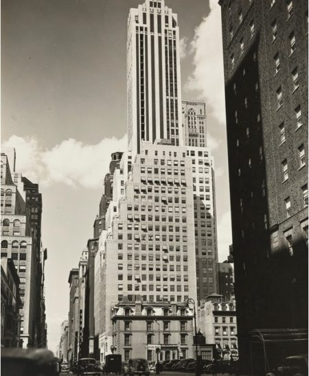 Berenice Abbott-Madison Avenue- Looking North From 38Th Street, Manhattan-1936