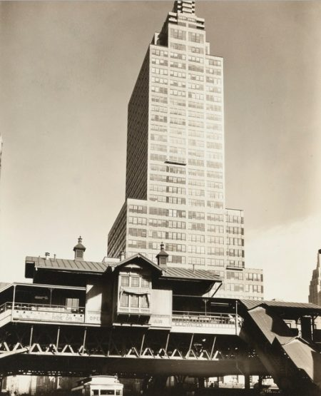Berenice Abbott-Mcgraw And Hill Building-1936