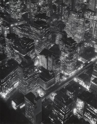 New York at Night-1932