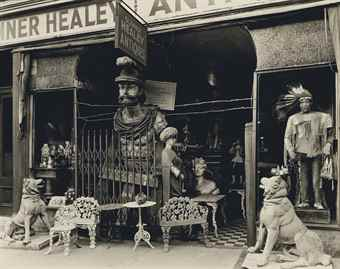 Berenice Abbott-Sumner Healy Antique Shop, 942 3rd Ave., Manhattan, New York-1936