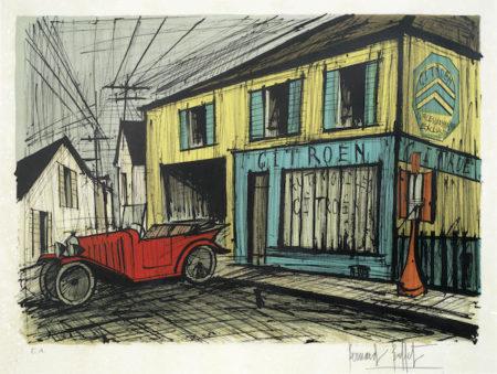 Bernard Buffet-Le Garage Citeron-1979