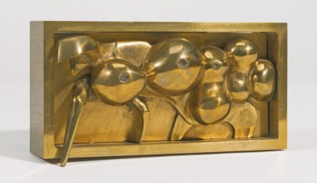 Bernard Meadows-Maquette For Large Crab Relief-1978