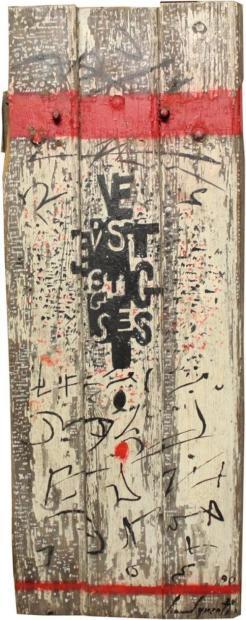Bernard Quentin-Ecritures-1990