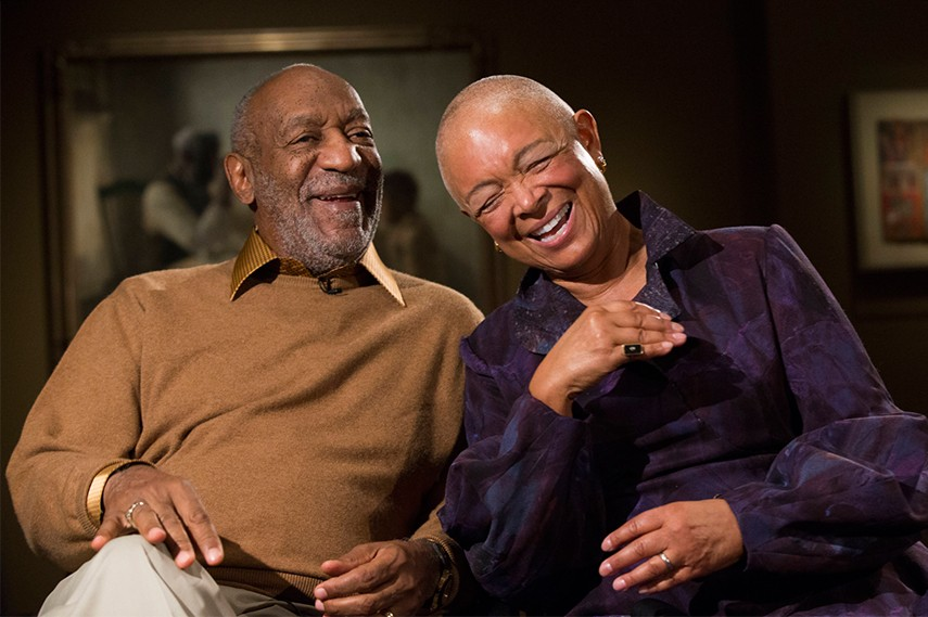Bill Cosby and his wife Camille