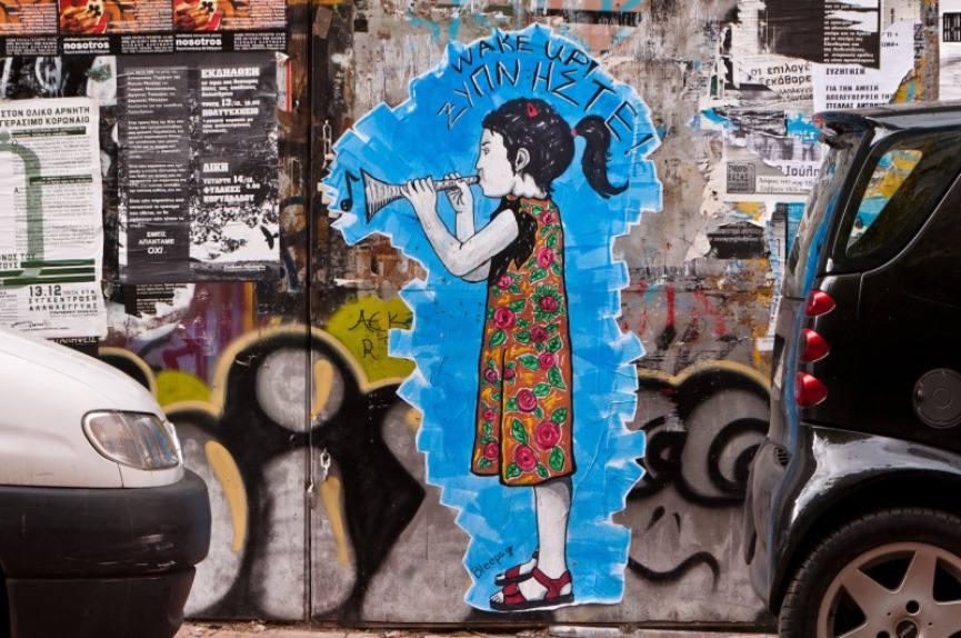 graffiti crisis greece 2015 twitter contac news media home economic politics search
