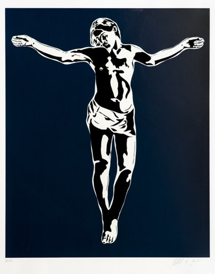 Blek le Rat-Jesus Blue-2008