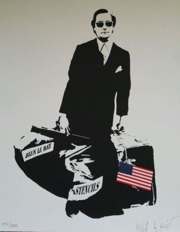 Blek le Rat-Self Portrait-