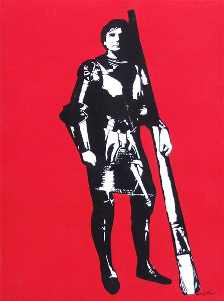 Blek le Rat-Artist Armour-2008