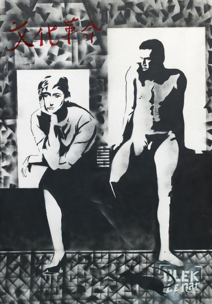 Blek le Rat-Couple (Francoise Sagan)-1986