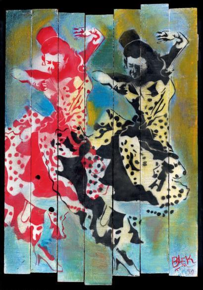 Blek le Rat-Dancers-1990