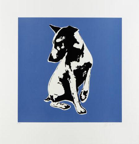 Blek le Rat-His Master's Voiceless (blue)-2008